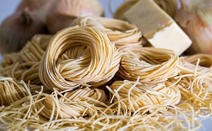 Macarrão capellini