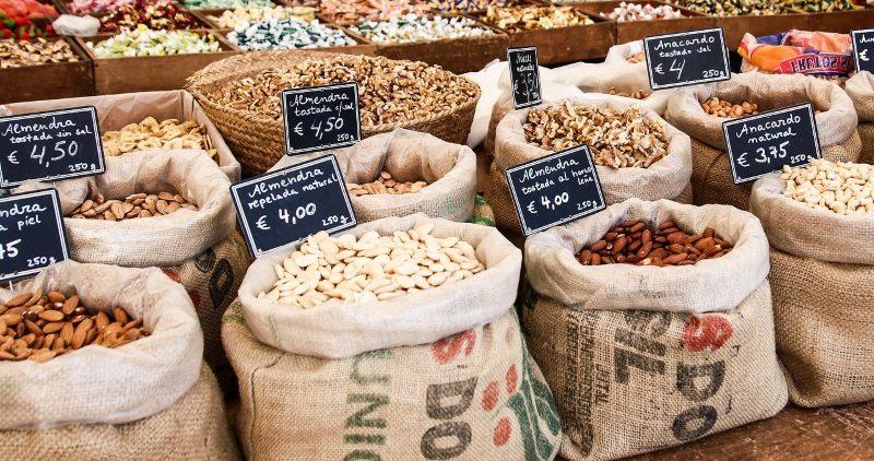 cereais a granel supermercado