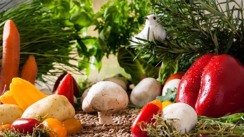 legumes e vegetais